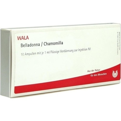 BELLADONNA/CHAMOMILLA, 10X1 ML, Wala Heilmittel GmbH