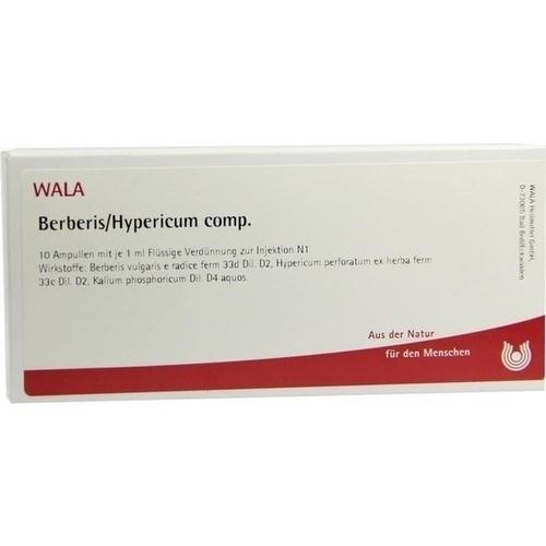 BERBERIS/HYPERICUM COMP, 10X1 ML, Wala Heilmittel GmbH