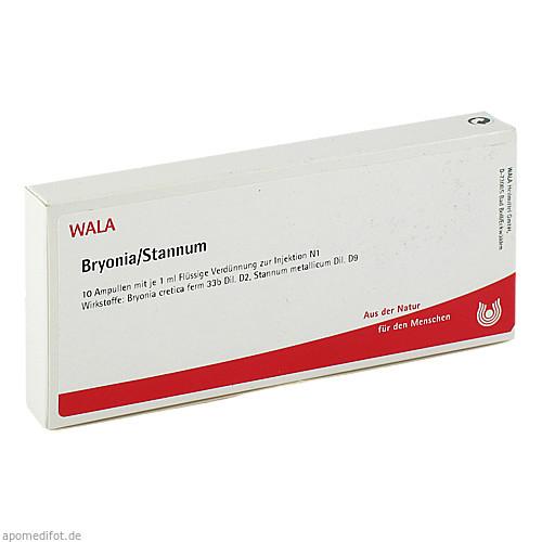 BRYONIA/STANNUM, 10X1 ML, Wala Heilmittel GmbH