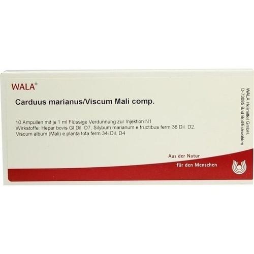 CARDUUS MAR/VISC MALI COMP, 10X1 ML, Wala Heilmittel GmbH