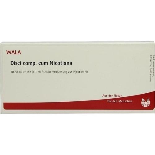 DISCI COMP C NICOTIANA, 10X1 ML, Wala Heilmittel GmbH
