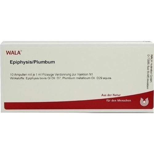 EPIPHYSIS/PLUMBUM, 10X1 ML, Wala Heilmittel GmbH