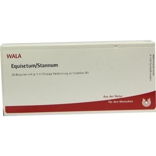 EQUISETUM/STANNUM, 10X1 ML, Wala Heilmittel GmbH