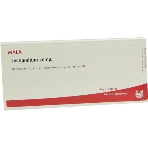 LYCOPODIUM COMP, 10X1 ML, Wala Heilmittel GmbH