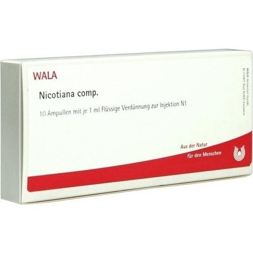 NICOTIANA COMP, 10X1 ML, Wala Heilmittel GmbH