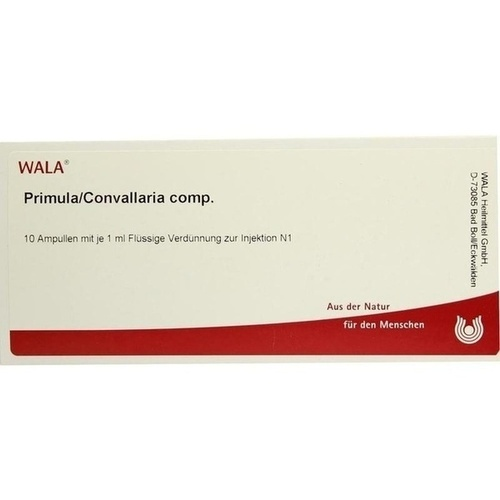 PRIMULA/CONVALLARIA COMP, 10X1 ML, Wala Heilmittel GmbH