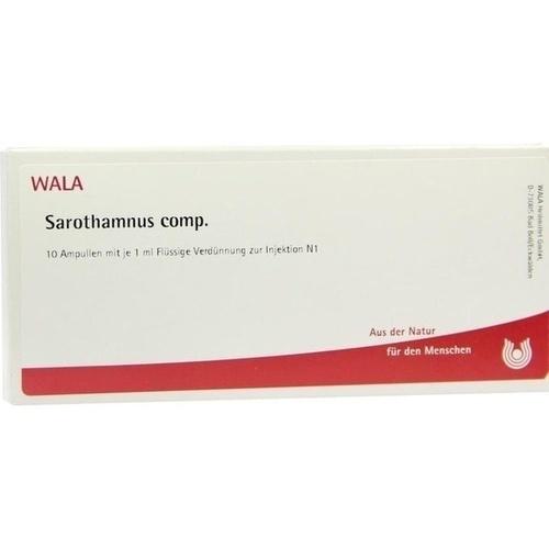 SAROTHAMNUS COMP, 10X1 ML, Wala Heilmittel GmbH