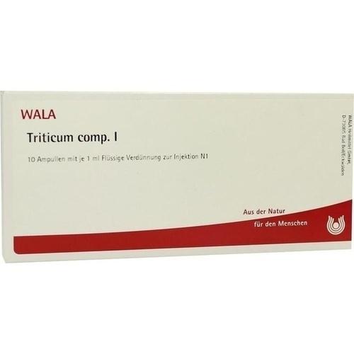 TRITICUM COMP I, 10X1 ML, Wala Heilmittel GmbH