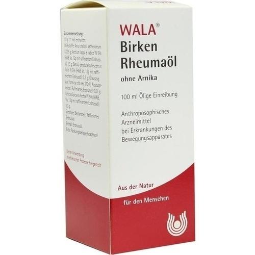 BIRKEN-RHEUMAOEL O ARNIKA, 100 ML, Wala Heilmittel GmbH