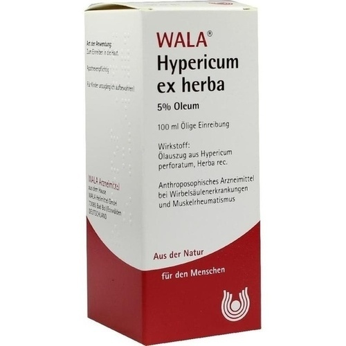 HYPERICUM EX HERBA 5% OL, 100 ML, Wala Heilmittel GmbH