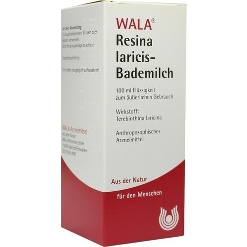 RESINA LARICIS-BADEMILCH, 100 ML, Wala Heilmittel GmbH