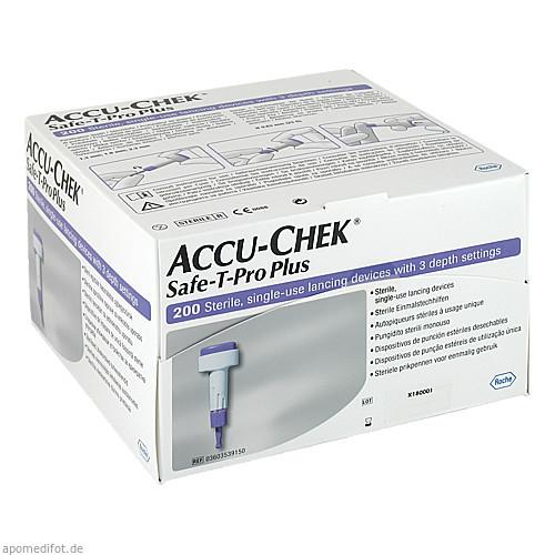 Accu-Chek Safe-T-Pro Plus, 200 ST, Roche Diabetes Care Deutschland GmbH
