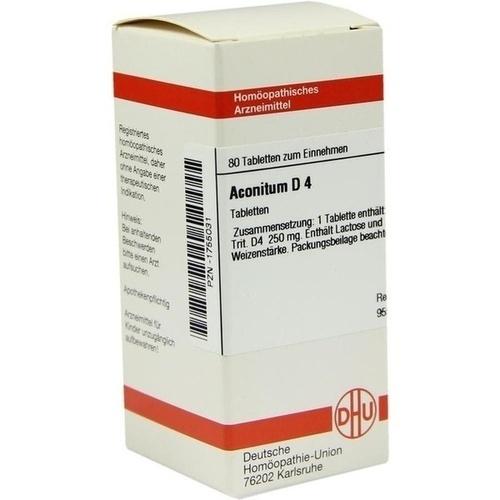 ACONITUM D 4, 80 ST, Dhu-Arzneimittel GmbH & Co. KG