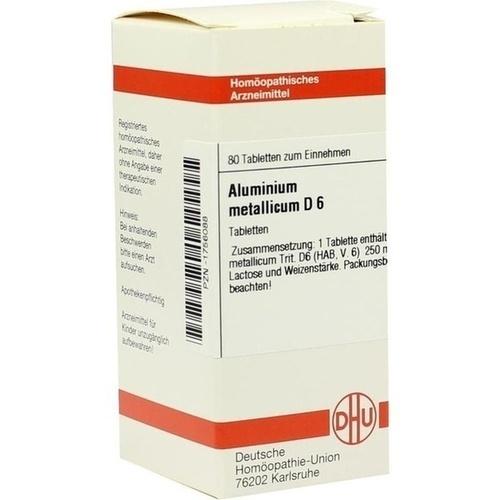 ALUMINIUM MET D 6, 80 ST, Dhu-Arzneimittel GmbH & Co. KG