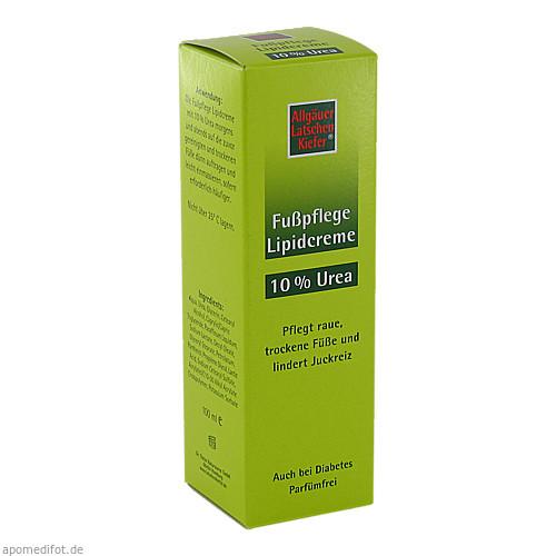 Allgäuer LK 10% Urea Fuß Lipidcreme, 100 ML, Dr. Theiss Naturwaren GmbH