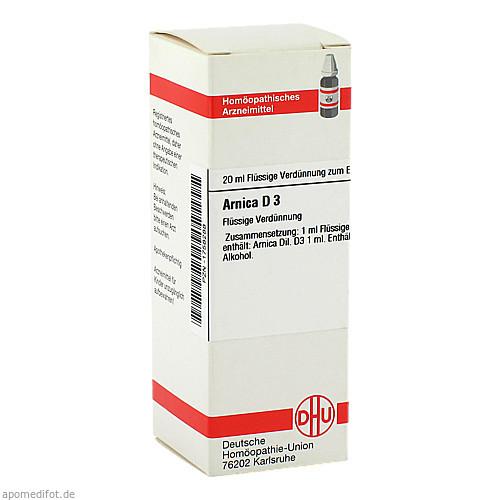 ARNICA D 3, 20 ML, Dhu-Arzneimittel GmbH & Co. KG