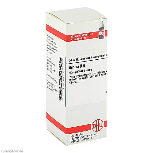 ARNICA D 6, 20 ML, Dhu-Arzneimittel GmbH & Co. KG