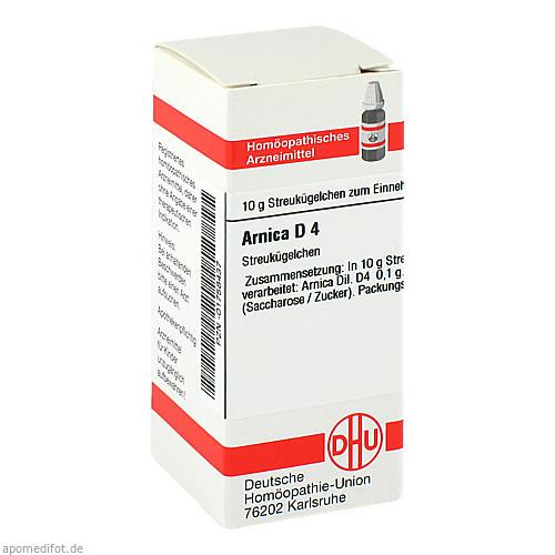ARNICA D 4, 10 G, Dhu-Arzneimittel GmbH & Co. KG