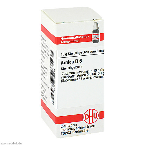 ARNICA D 6, 10 G, Dhu-Arzneimittel GmbH & Co. KG