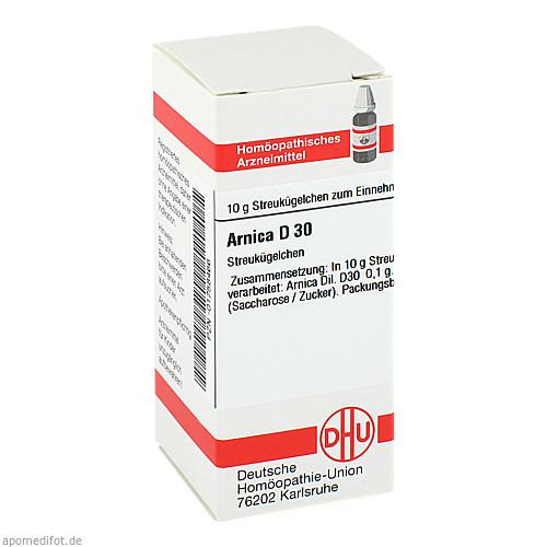 ARNICA D30, 10 G, Dhu-Arzneimittel GmbH & Co. KG