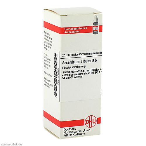 ARSENICUM ALB D 6, 20 ML, Dhu-Arzneimittel GmbH & Co. KG