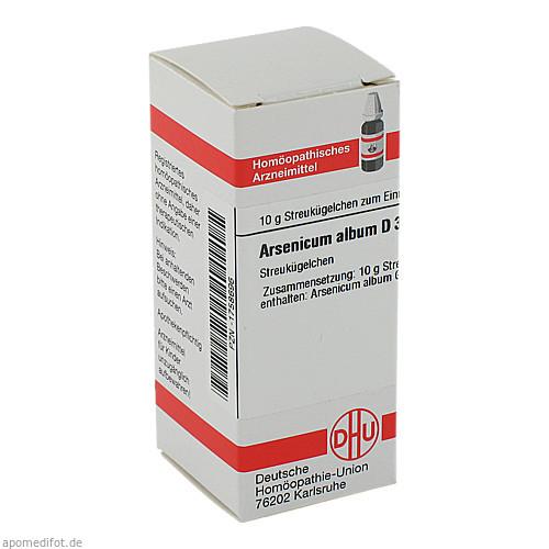 ARSENICUM ALB D30, 10 G, Dhu-Arzneimittel GmbH & Co. KG