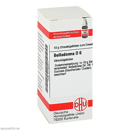 BELLADONNA D 6, 10 G, Dhu-Arzneimittel GmbH & Co. KG