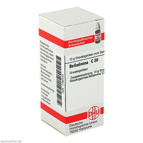BELLADONNA C30, 10 G, Dhu-Arzneimittel GmbH & Co. KG