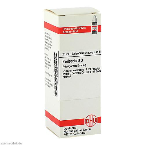 BERBERIS D 3, 20 ML, Dhu-Arzneimittel GmbH & Co. KG