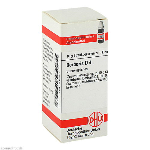 BERBERIS D 4, 10 G, Dhu-Arzneimittel GmbH & Co. KG