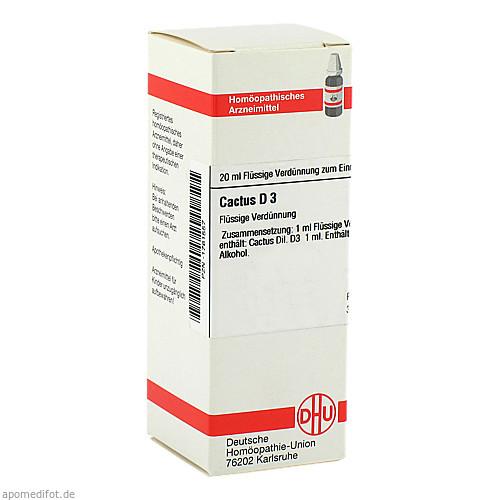 CACTUS D 3, 20 ML, Dhu-Arzneimittel GmbH & Co. KG
