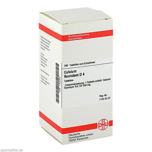 CALCIUM FLUORAT D 4, 200 ST, Dhu-Arzneimittel GmbH & Co. KG