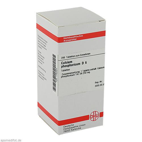 CALCIUM PHOS D 6, 200 ST, Dhu-Arzneimittel GmbH & Co. KG