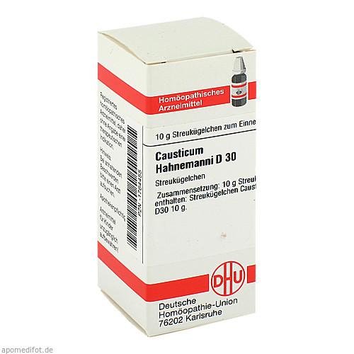 CAUSTICUM HAHNEM D30, 10 G, Dhu-Arzneimittel GmbH & Co. KG