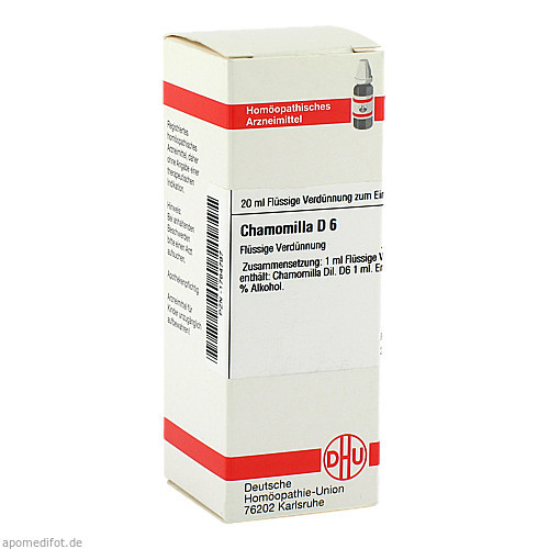 CHAMOMILLA D 6, 20 ML, Dhu-Arzneimittel GmbH & Co. KG