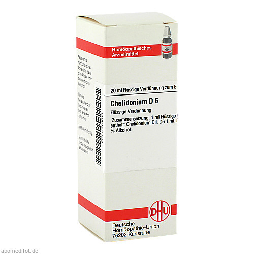 CHELIDONIUM D 6, 20 ML, Dhu-Arzneimittel GmbH & Co. KG