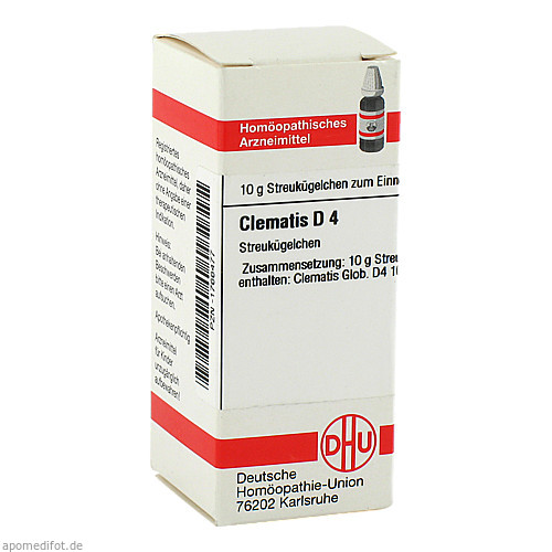 CLEMATIS D 4, 10 G, Dhu-Arzneimittel GmbH & Co. KG