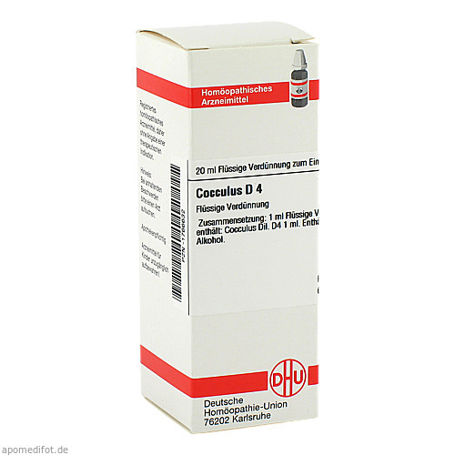 COCCULUS D 4, 20 ML, Dhu-Arzneimittel GmbH & Co. KG