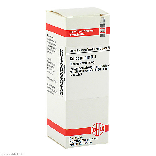COLOCYNTHIS D 4, 20 ML, Dhu-Arzneimittel GmbH & Co. KG