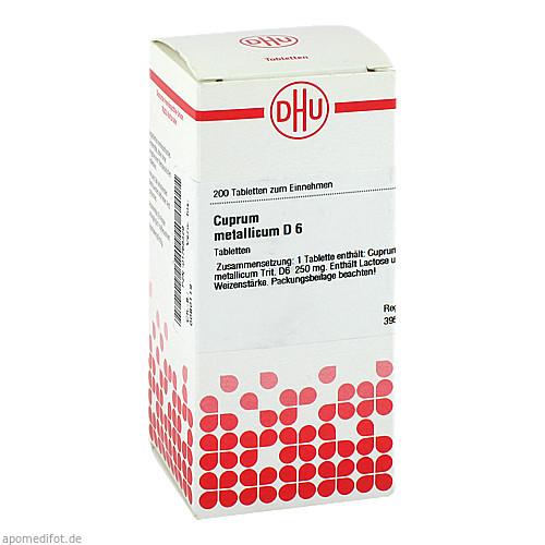 CUPRUM MET D 6, 200 ST, Dhu-Arzneimittel GmbH & Co. KG