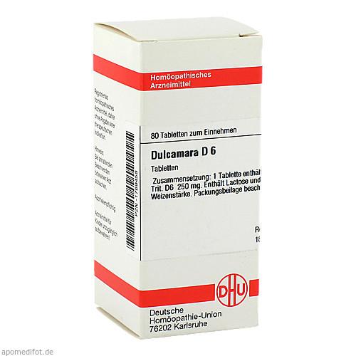 DULCAMARA D 6, 80 ST, Dhu-Arzneimittel GmbH & Co. KG