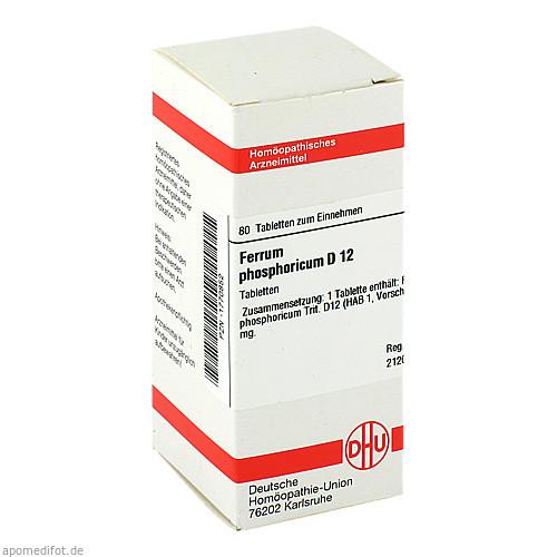 FERRUM PHOS D12, 80 ST, Dhu-Arzneimittel GmbH & Co. KG