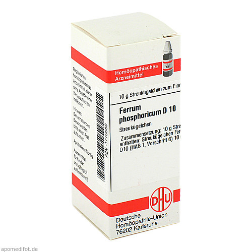 FERRUM PHOS D10, 10 G, Dhu-Arzneimittel GmbH & Co. KG