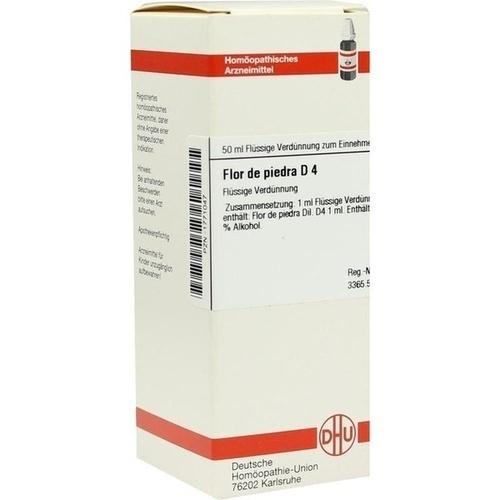 FLOR DE PIEDRA D 4, 50 ML, Dhu-Arzneimittel GmbH & Co. KG