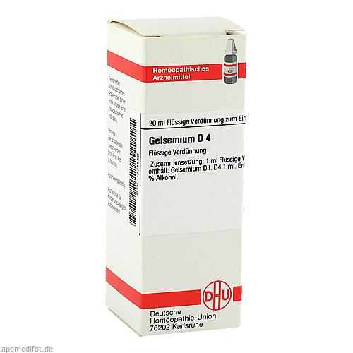 GELSEMIUM D 4, 20 ML, Dhu-Arzneimittel GmbH & Co. KG