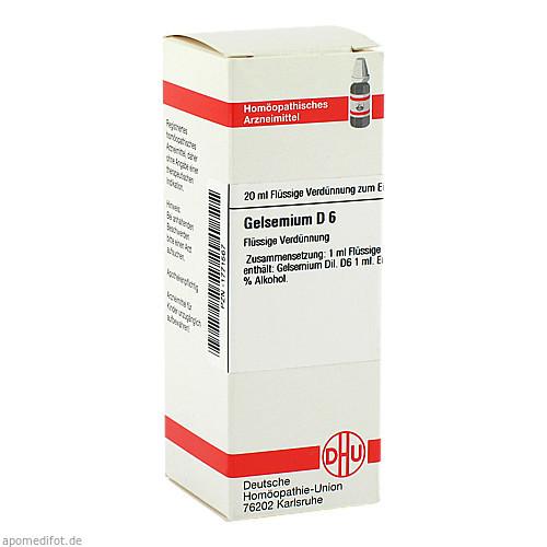 GELSEMIUM D 6, 20 ML, Dhu-Arzneimittel GmbH & Co. KG