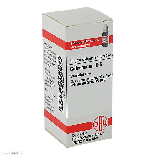 GELSEMIUM D 6, 10 G, Dhu-Arzneimittel GmbH & Co. KG