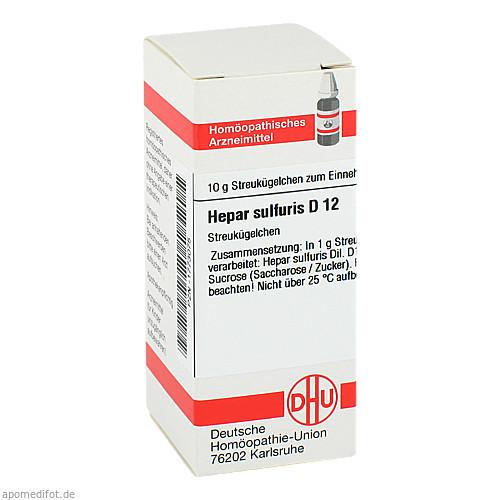 HEPAR SULF D12, 10 G, Dhu-Arzneimittel GmbH & Co. KG