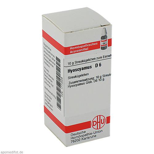 HYOSCYAMUS D 6, 10 G, Dhu-Arzneimittel GmbH & Co. KG