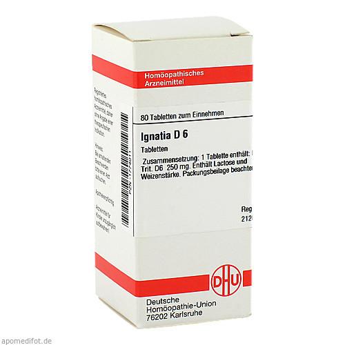IGNATIA D 6, 80 ST, Dhu-Arzneimittel GmbH & Co. KG